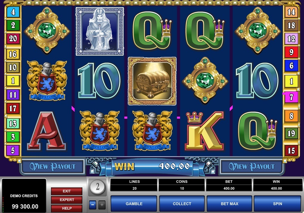Excalibur Slot Drawbacks 32644
