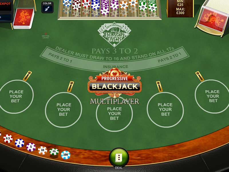Mgm Blackjack Side 20705