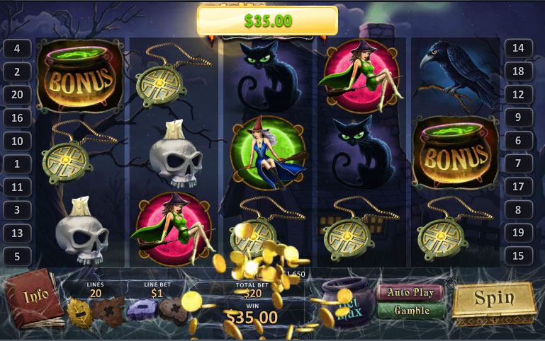 Halloween Horrors Slot 66090