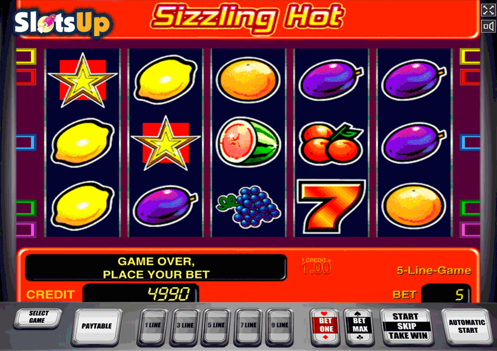 Sizzling Spins Slot 41664