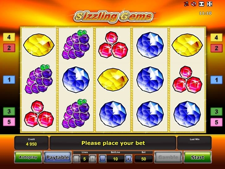 Sizzling Spins 52591