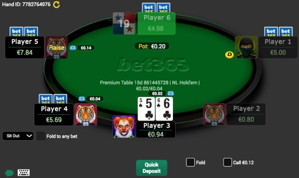 Poker Game Example 68707