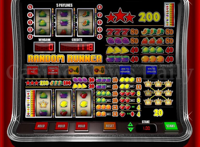 Reel Rush Slot 27625