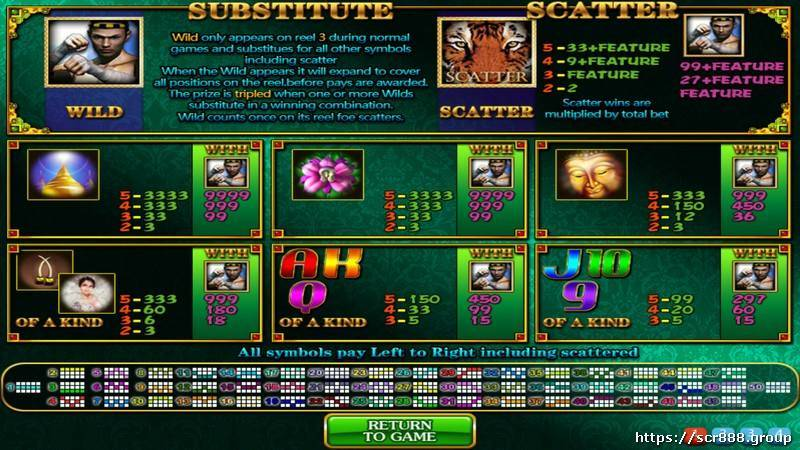 Golden Games Slot 20522