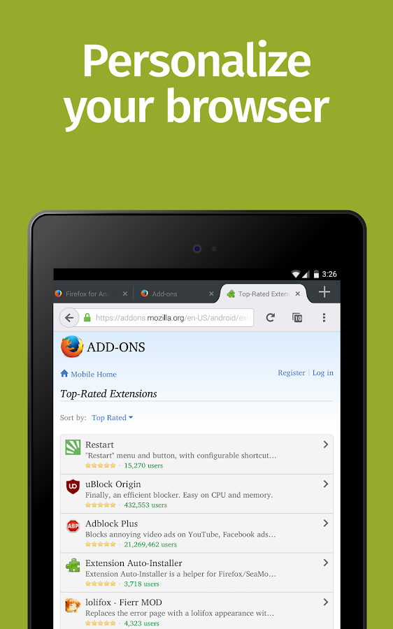 Apps for Firefox 92401