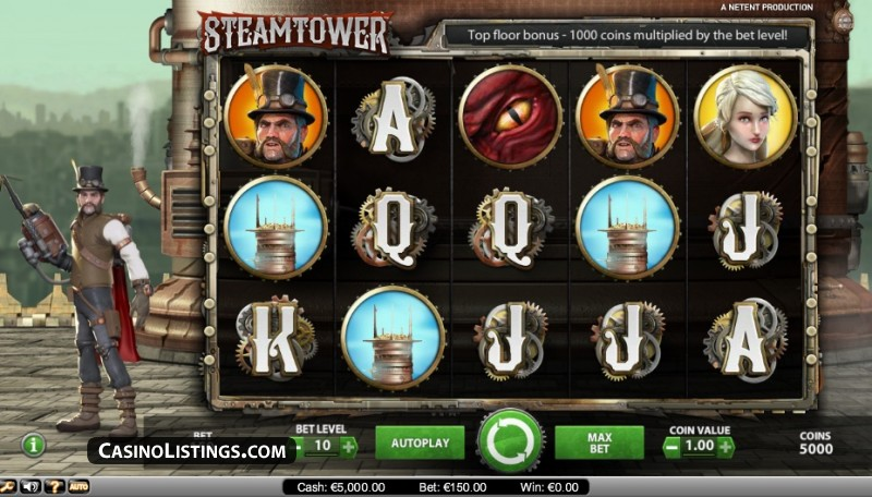 Steam Tower Slot 28469
