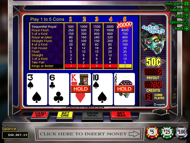 Poker Slot How 43730