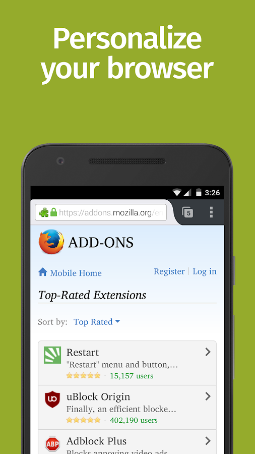 Apps for Firefox 63672