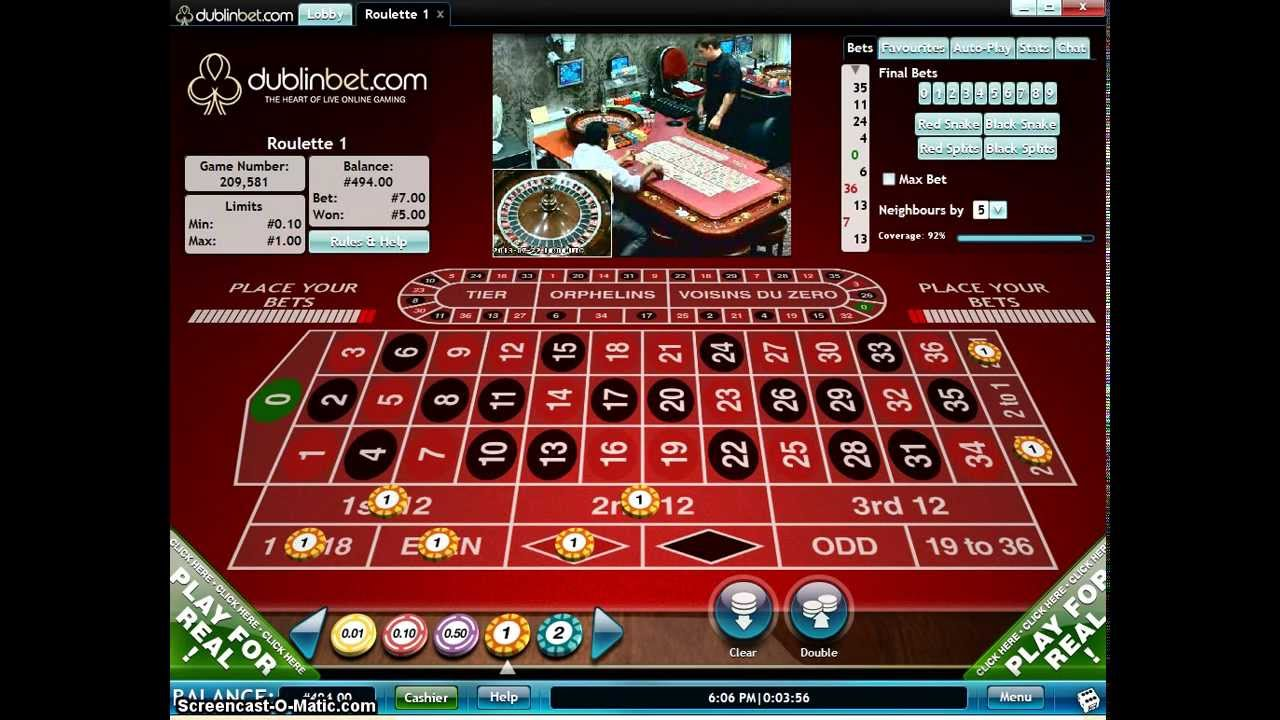 Roulette Strategy 34098