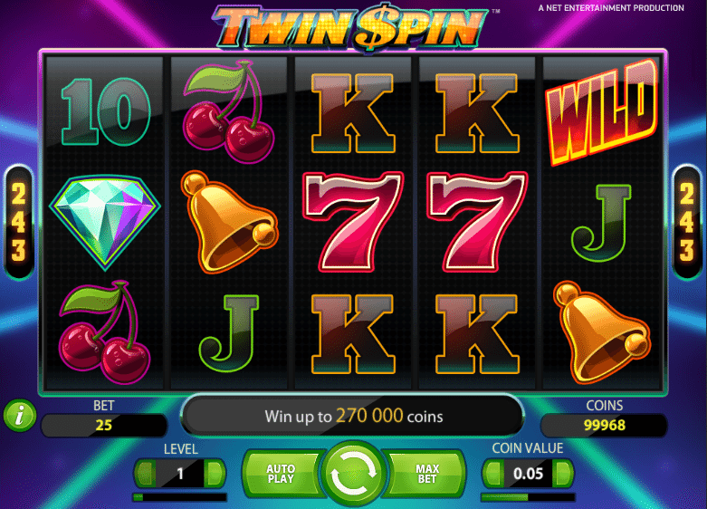 Twin Spin Slot 30814