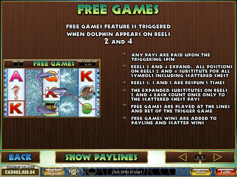 Dolphin Reef 58946