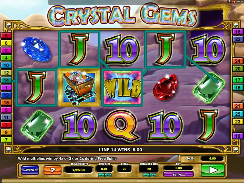 Enchanted Crystals Slot 86387