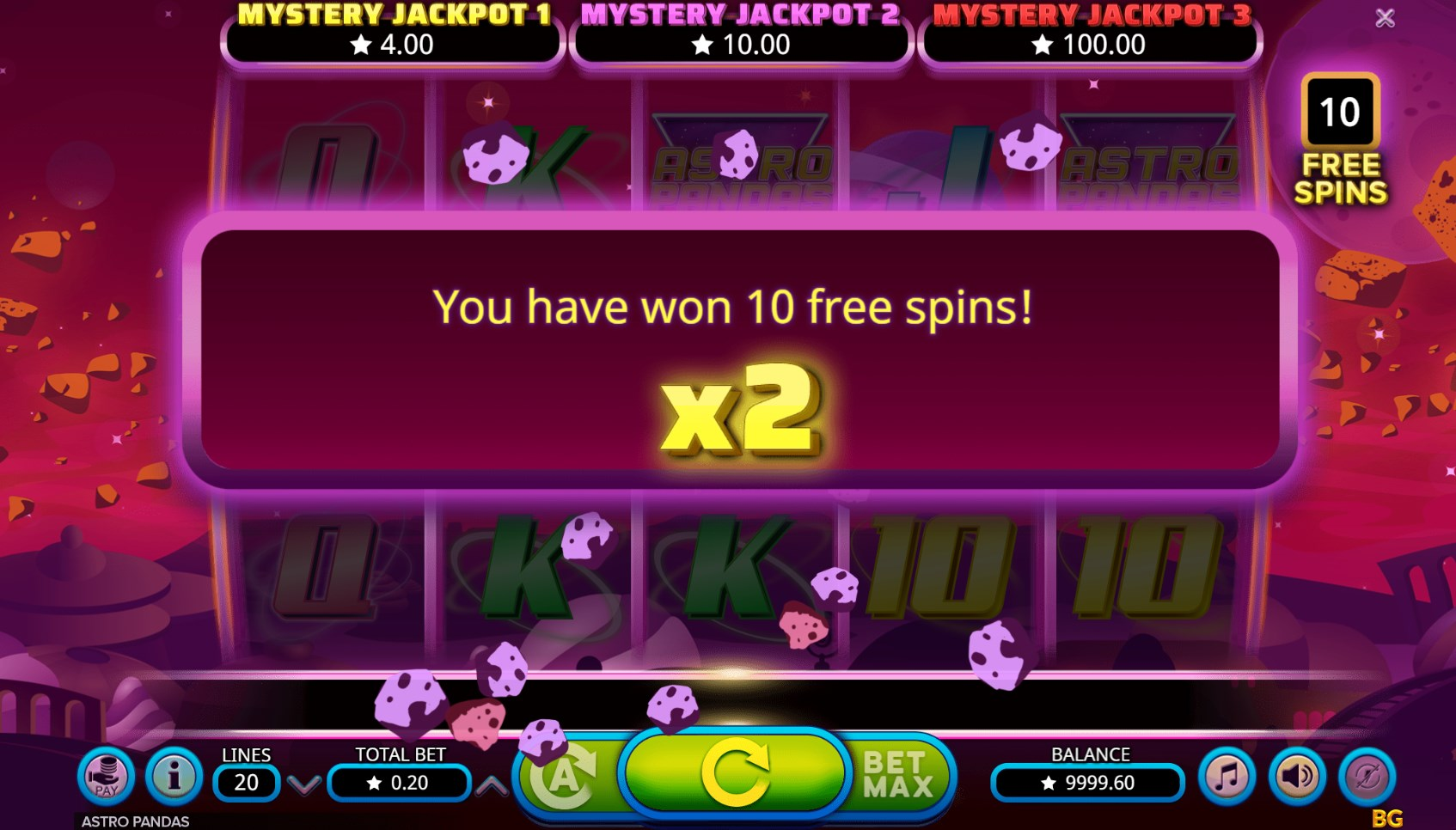 Space Invaders Slot 38346