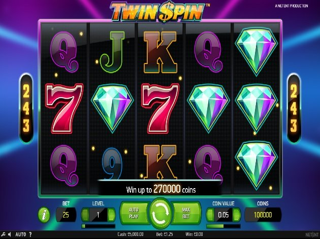 Twin Spin Slot 45349