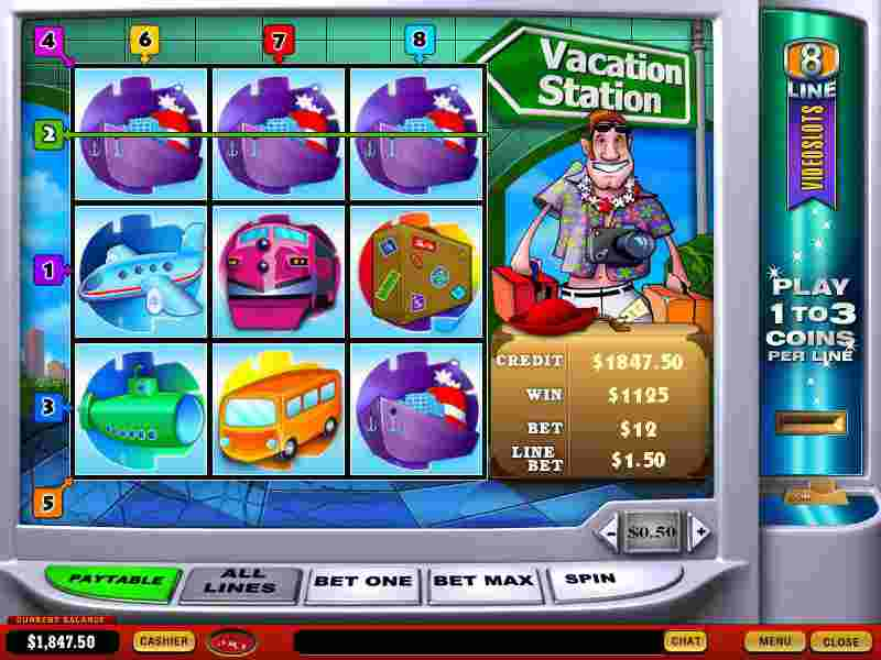 Vacation Station Slot 62854